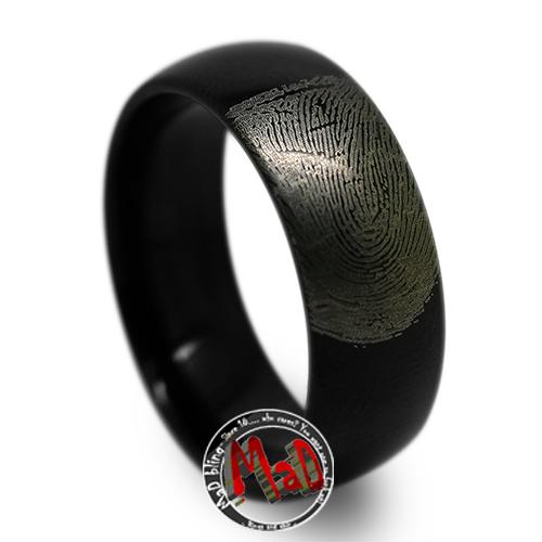 Finger Print Ring Australia