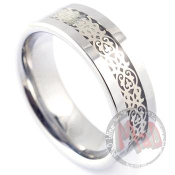 Knowledge Tungsten Ring