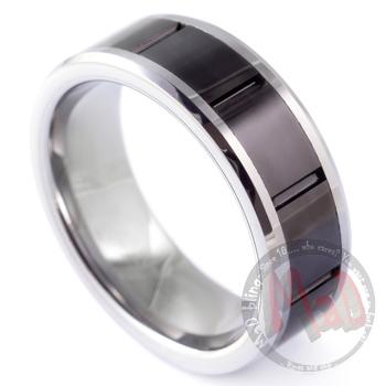 Vault Tungsten Black Ring